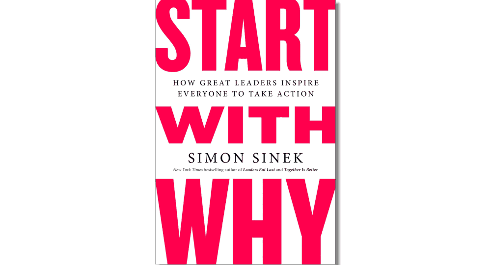 Book Cover for Start with Why by Simon Sinek