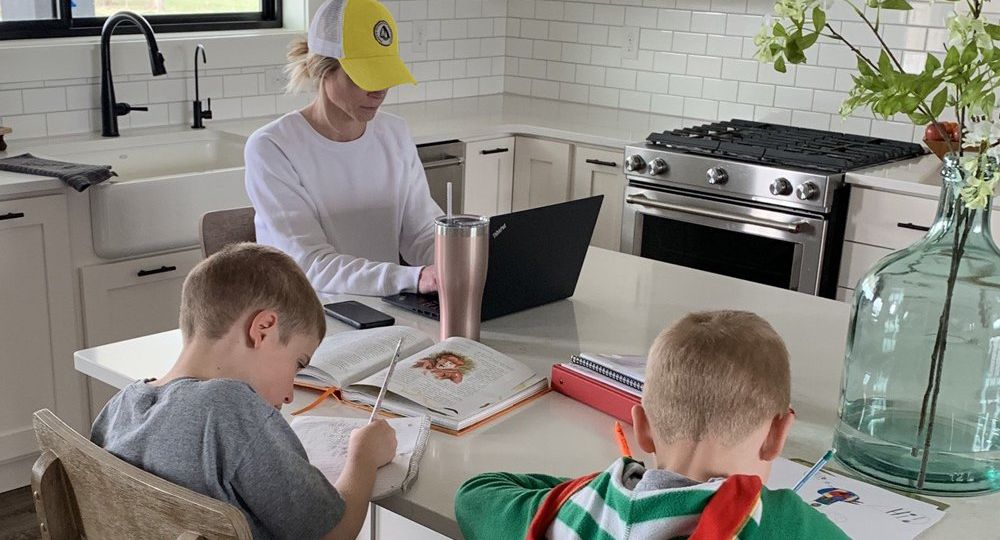 Working Remotely with Children at Home